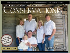 The Gill Family on the Cover of the latest Newsletter