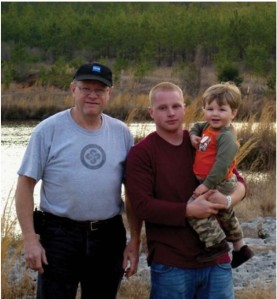 Dr. Donnie Smith, his son and grandson